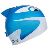 NABAIJI Topi Renang Anak Motif Ikan / Swimming Cap 100% ORI DECATHLON