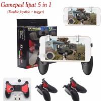 gamepad lipat 5 in 1/double joystick+trigger