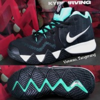 7acb598ad12 Nike Kyrie Irving 4 2018 Black Green Mint Edition Import Vietnam