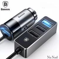 Baseus Car Charger 4 USB Port 5.5A Fast Charging Original