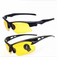 Kacamata HD Anti Silau Model Sport Night Driving Riding Glasses KHM320