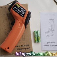 infrared thermometer -50- 550 derajat celcius termometer non contact