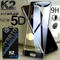 [TEMPERED GLASS 5D] warna K2 Premium Quality OPPO A3S,NEO 9/A37,F5,F1S