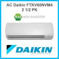AC Daikin Split Premium Inverter 2 1/2 PK R32 FTKM60SVM4 Murah