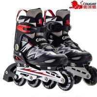 Sepatu roda   MZS835L Balck Silver   ORIGINAL COUGAR   New Trending 57e045bebb