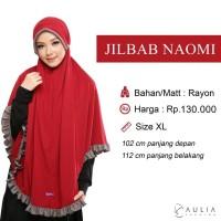 Jilbab Bergo Khimar Kaos Harian Instan Kcb Naomi By Aulia Fashion