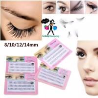 Bulu Mata Tanam 60pcs Eyelash Extension Individual False