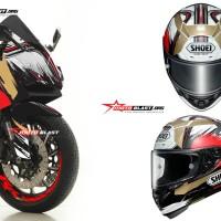 Decal stiker Honda CBR250RR Shoei Motegi Japan 2017