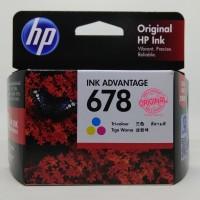 Original Cartridge - Hp - Hp 678 Colour Cartridge