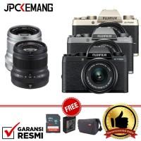 Harga fujifilm x t100 xt100 kit 15 45mm xf 50mm f 2 garansi | Pembandingharga.com