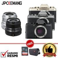 Harga fujifilm x t100 xt100 body xf 23mm f 2 garansi | Pembandingharga.com