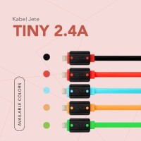JETE Kabel Data Tiny Micro Android Jav 100cm Ecer Kabel charger Micro