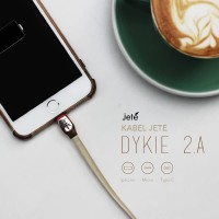 JETE Kabel Data Kabel Charger Iphone 5 6 7 2.4A 100Cm Jete Dykie