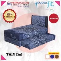 Comforta SuperFit Spring bed 2in1 (Full Set) 100x200
