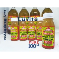 BRAGG Apple Cider Vinegar Cuka Apel share 100ml