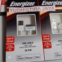 Energizer USB Cable 30pin 1.2m Original