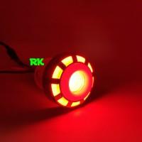 LAMPU REM PROJIE LED MODEL BULAT RUNNING | LAMPU REM LED MOTOR MOBIL