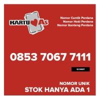 Kartu Perdana AS Nomor Cantik Hoki Ganteng 085370677111