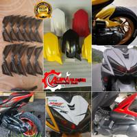 Spakbor Kolong dan Spoiler Yamaha Aerox