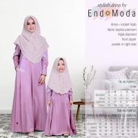 Gamis Set Hijab Ibu & Anak Endomoda