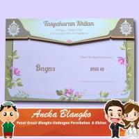 Grosir Blangko Blangko Undangan Pernikahan Dan Khitan Byar 49 isi 100