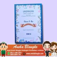 Grosir Blangko Blangko Undangan Pernikahan Dan Khitan Byar 53 isi 100