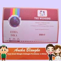 Grosir Blangko Blangko Undangan Pernikahan Dan Khitan Byar 47 isi 100