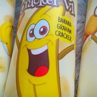 Liquid BANANA GRAHAM CRAKERS 60ML 3MG Premium Pisang Cookies Vapor RDA