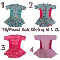 Baju Renang Diving Wanita Anak TK Rok