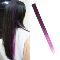 Wig dan Hair Extension Ombre Gradient Wig Hair Clip WARNA8