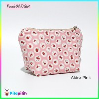 Pouch Oil 10 Slot - Dompet / Tas / Pouch Essential Oil - AKIRA PINK