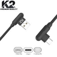 KABEL DATA MICRO USB K2 KABEL DATA GAMNG T BONE CHASAN GAMING K2-C02