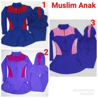Baju Renang Anak Usia SD Wanita Muslimah syari