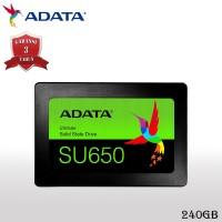 "ADATA Ultimate SU650 SSD Internal 240GB SATA 2.5"" 3D NAND"