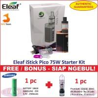 Eleaf iStick Pico 75W Starter Kit Vaporizer / Vape / Rokok Elektrik