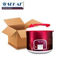 Sekai Rice Cooker / Penanak Nasi CMW 519 - Red Flower
