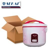 Sekai Rice Cooker / Penanak Nasi CMW 518 - White Flower