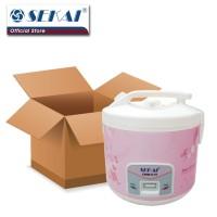 Sekai Rice Cooker / Penanak Nasi CMW 519 - White Flower