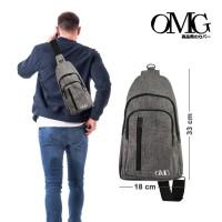 sling bag URBAN lifestyle tas selempang men women waterproof