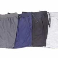 Paket Hemat 4 pcs - Celana Pendek Polos Bahan Kaos / Celana Kolor Adem