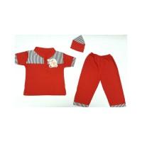 Baju Muslim Bayi Koko Salur Polos - Pakaian Muslim Lebaran Bayi