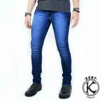Celana Jeans Pria Original Celana Levis Cowok Kasual Slimfit Pensil