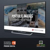 Template PowerPoint PORTFOLIO IMAGES | PresentationLoad