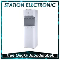 Electrolux EQAXF01BXWI BL New Dispenser Galon Bawah 3 Kran Putih