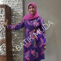 Dress Batik Katun Cirebon Brand Batik Muda Uk L - BAAD25123