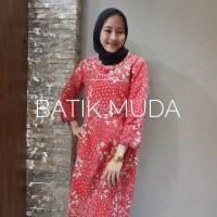 Dress Batik Katun Cirebon Brand Batik Muda - BAAD25131