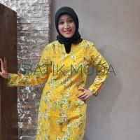 Dress Batik Katun Cirebon Brand Batik Muda - BAAD2512