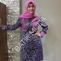 Dress Batik Katun Cirebon Brand Batik Muda - BAAD2515