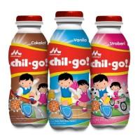 Dijual Susu Chil Go - 1 Karton Isi 36 Botol - Coklat Ready Stok