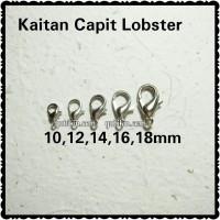 12 Piece Kait Lobster Besi 16mm Silver